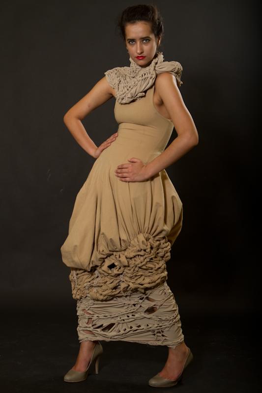 rochie lunga impletituri