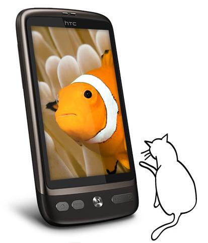 HTC Desire - sursa: htc.com