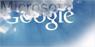 Google - Microsoft cloud computing